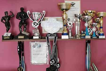 Trophies awarded to Alex Fiora